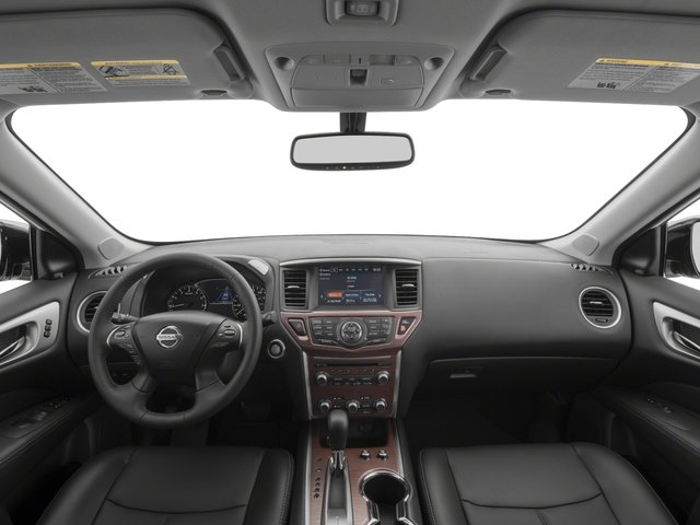 2017 Nissan Pathfinder Prices and Values Utility 4D Platinum 2WD V6 full dashboard