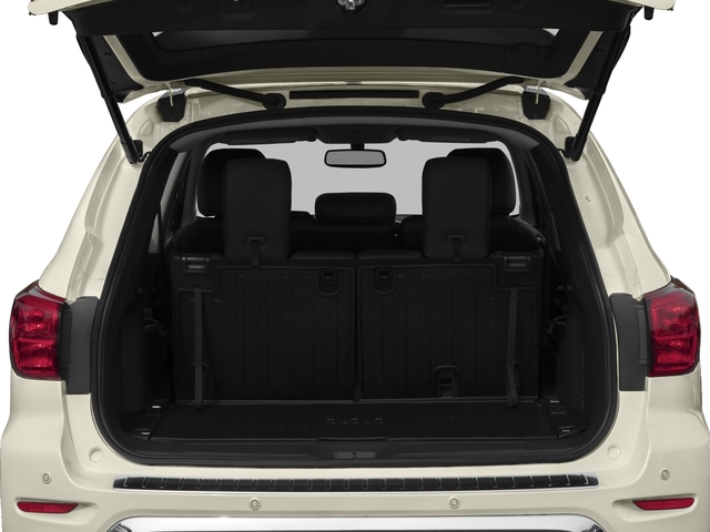 2017 Nissan Pathfinder Prices and Values Utility 4D Platinum 2WD V6 open trunk