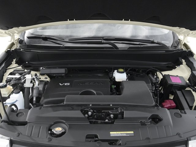 2017 Nissan Pathfinder Prices and Values Utility 4D Platinum 2WD V6 engine