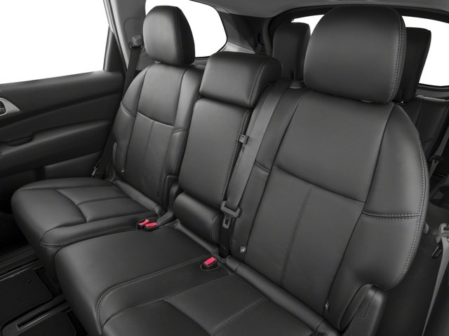2017 Nissan Pathfinder Prices and Values Utility 4D Platinum 2WD V6 backseat interior