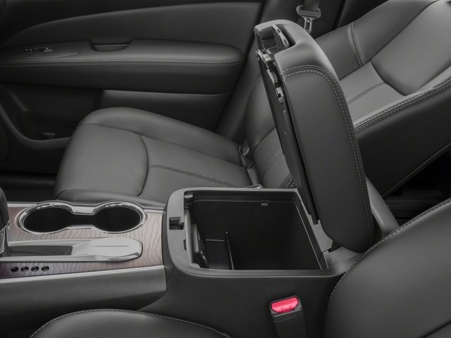 2017 Nissan Pathfinder Prices and Values Utility 4D Platinum 2WD V6 center storage console