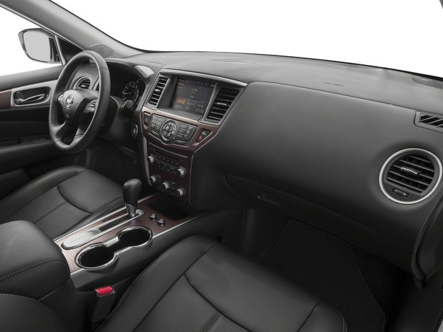 2017 Nissan Pathfinder Prices and Values Utility 4D Platinum 2WD V6 passenger's dashboard