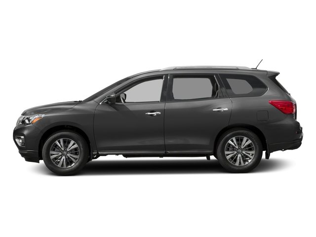 2017 Nissan Pathfinder Prices and Values Utility 4D SV 4WD V6 side view