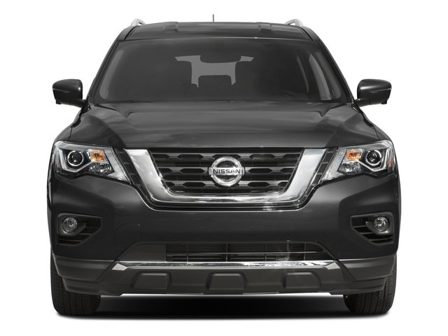 2017 Nissan Pathfinder Prices and Values Utility 4D SV 4WD V6 front view