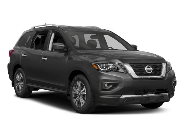 2017 Nissan Pathfinder Prices and Values Utility 4D SV 4WD V6 side front view