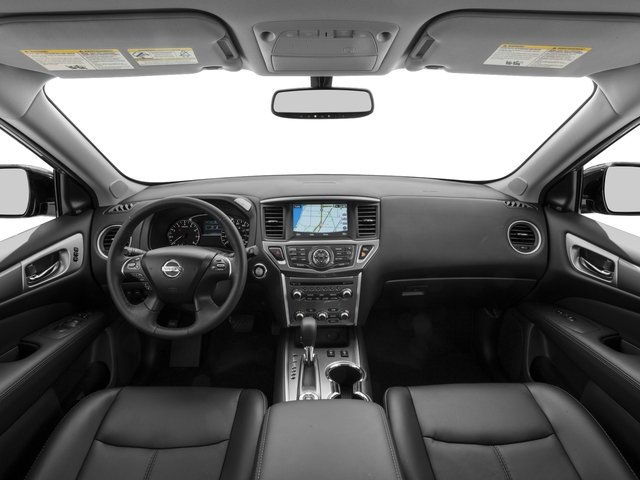 2017 Nissan Pathfinder Pictures Pathfinder Utility 4D SL 2WD V6 photos full dashboard
