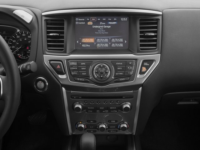 2017 Nissan Pathfinder Prices and Values Utility 4D SV 4WD V6 stereo system