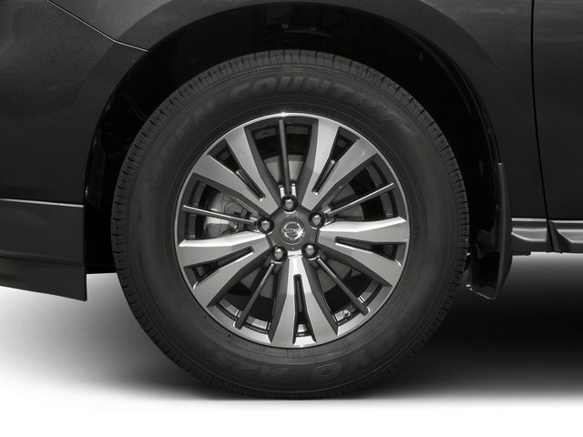 2017 Nissan Pathfinder Prices and Values Utility 4D SV 4WD V6 wheel