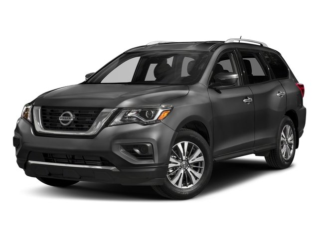 2017 Nissan Pathfinder Prices and Values Utility 4D S 2WD V6 side front view