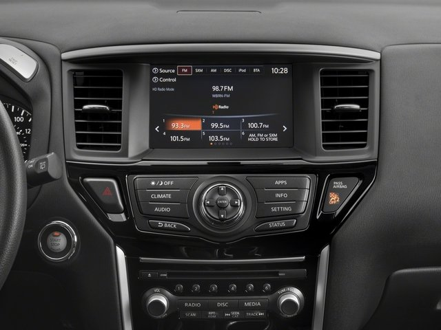 2017 Nissan Pathfinder Pictures Pathfinder Utility 4D S 2WD V6 photos stereo system