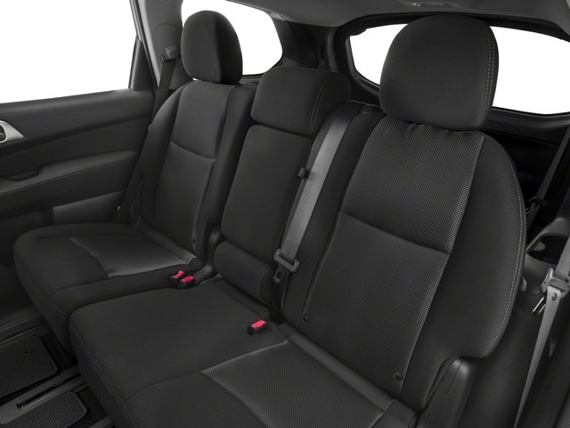 2017 Nissan Pathfinder Pictures Pathfinder Utility 4D S 2WD V6 photos backseat interior