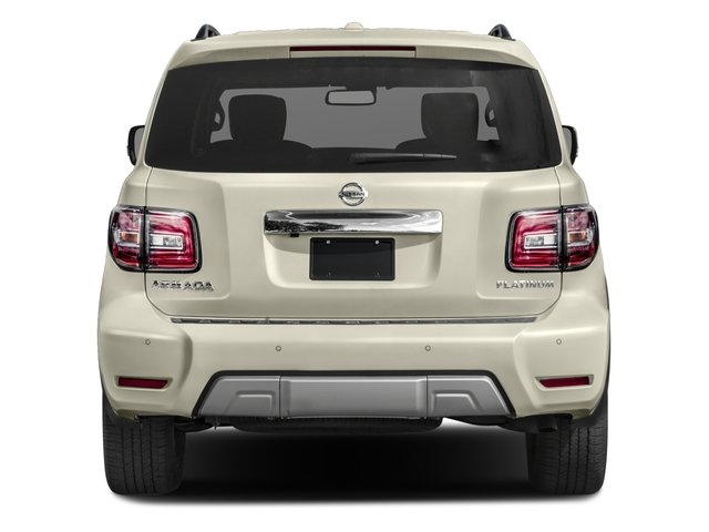 2017 Nissan Armada Prices and Values Utility 4D Platinum 2WD V8 rear view