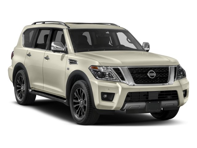 2017 Nissan Armada Prices and Values Utility 4D Platinum 2WD V8 side front view