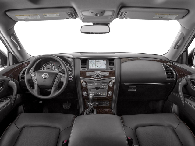 2017 Nissan Armada Prices and Values Utility 4D Platinum 2WD V8 full dashboard