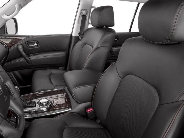 2017 Nissan Armada Prices and Values Utility 4D Platinum 2WD V8 front seat interior