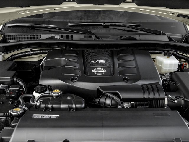 2017 Nissan Armada Prices and Values Utility 4D Platinum 2WD V8 engine