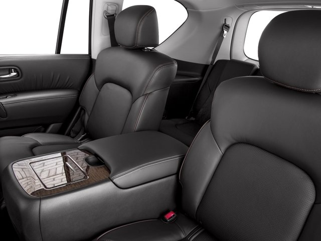 2017 Nissan Armada Prices and Values Utility 4D Platinum 2WD V8 backseat interior