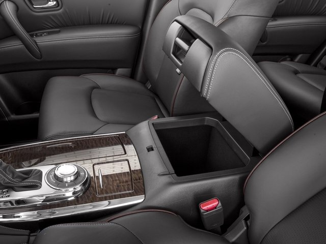 2017 Nissan Armada Prices and Values Utility 4D Platinum 2WD V8 center storage console