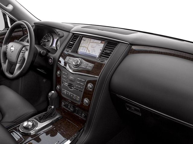 2017 Nissan Armada Prices and Values Utility 4D Platinum 2WD V8 passenger's dashboard
