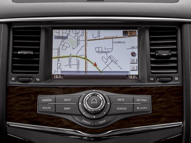 2017 Nissan Armada Prices and Values Utility 4D Platinum 2WD V8 navigation system