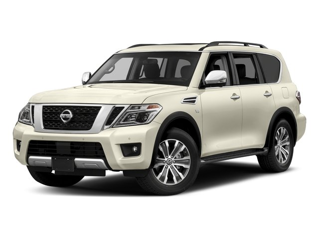 2017 Nissan Armada Base Price 4x4 SL Pricing side front view