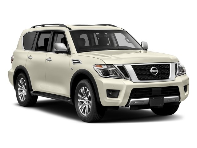 2017 Nissan Armada Prices and Values Utility 4D SL 2WD V8 side front view