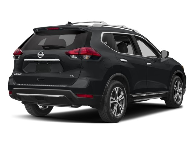 2017 Nissan Rogue Base Price Awd Sl Pricing Side Rear View
