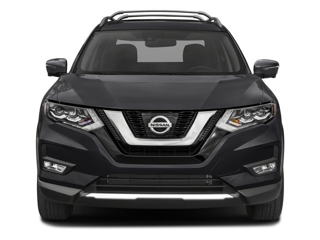 2017 Nissan Rogue Prices and Values Utility 4D SL 2WD I4 front view