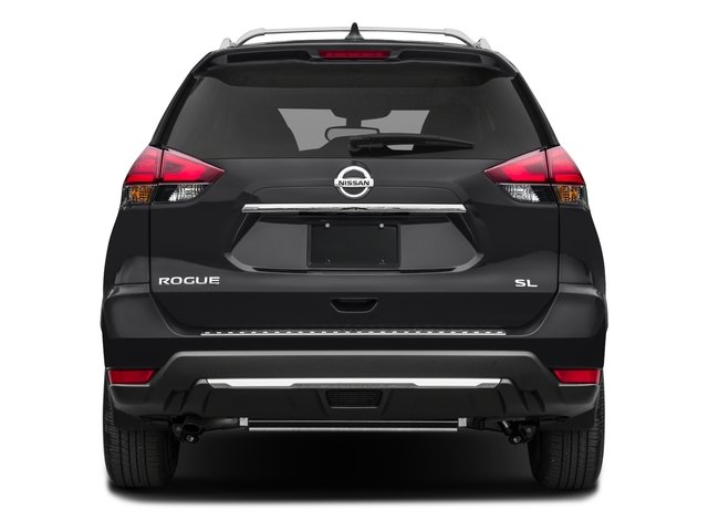 2017 Nissan Rogue Prices and Values Utility 4D SL AWD I4 rear view
