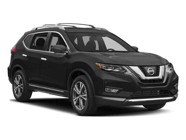 2017 Nissan Rogue Prices and Values Utility 4D SL AWD I4 side front view
