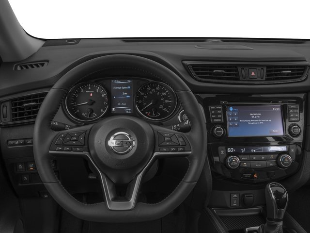 2017 Nissan Rogue Prices and Values Utility 4D SL 2WD I4 driver's dashboard