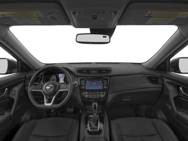 2017 Nissan Rogue Prices and Values Utility 4D SL 2WD I4 full dashboard