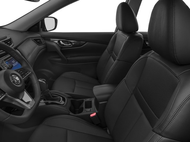2017 Nissan Rogue Prices and Values Utility 4D SL 2WD I4 front seat interior