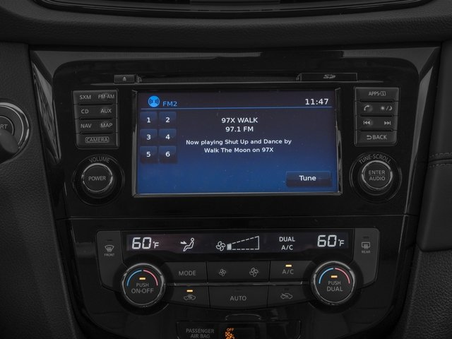 2017 Nissan Rogue Prices and Values Utility 4D SL 2WD I4 stereo system