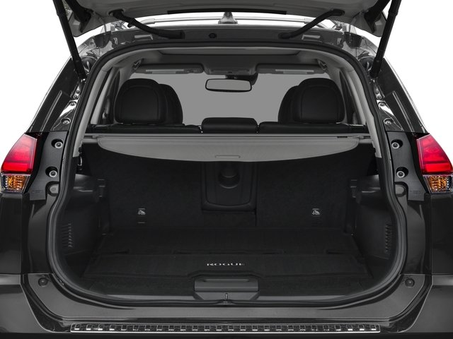 2017 Nissan Rogue Prices and Values Utility 4D SL 2WD I4 open trunk