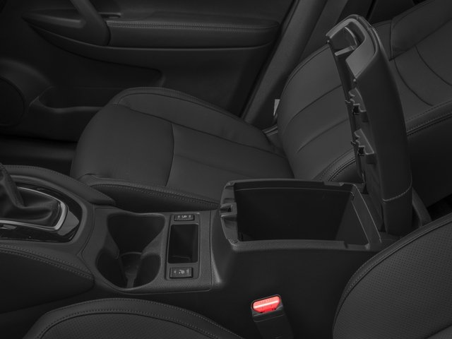 2017 Nissan Rogue Prices and Values Utility 4D SL 2WD I4 center storage console