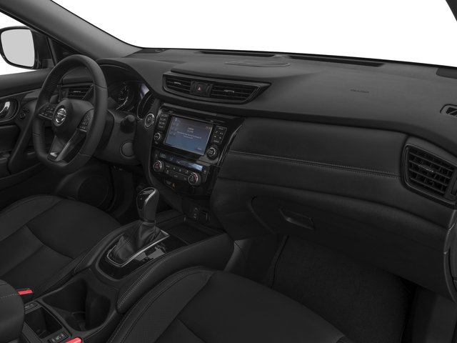 2017 Nissan Rogue Prices and Values Utility 4D SL 2WD I4 passenger's dashboard