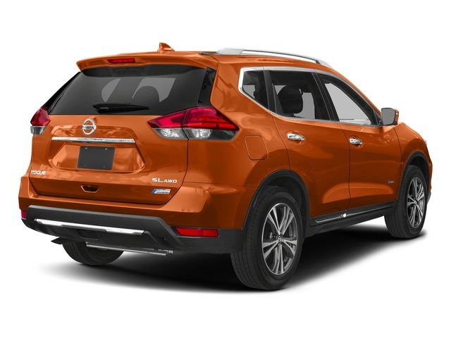 2017 Nissan Rogue Pictures Rogue Utility 4D SL 2WD I4 Hybrid photos side rear view