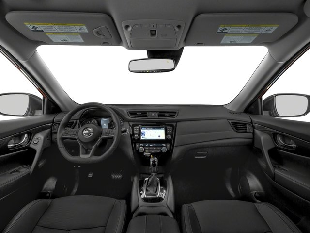 2017 Nissan Rogue Pictures Rogue Utility 4D SL 2WD I4 Hybrid photos full dashboard