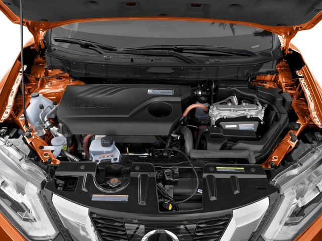 2017 Nissan Rogue Pictures Rogue Utility 4D SL 2WD I4 Hybrid photos engine