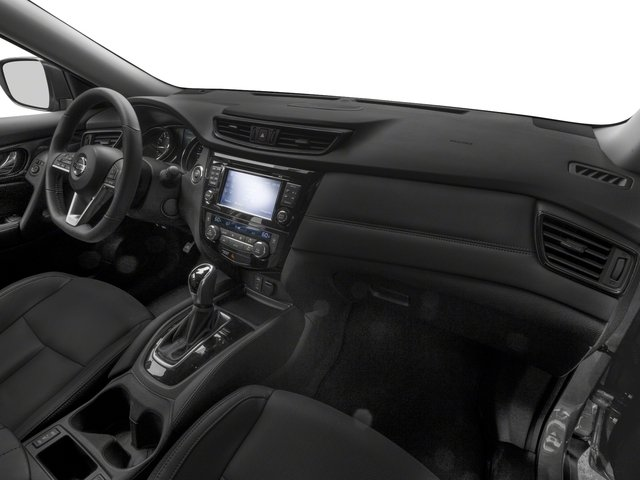 2017 Nissan Rogue Pictures Rogue Utility 4D SL 2WD I4 Hybrid photos passenger's dashboard