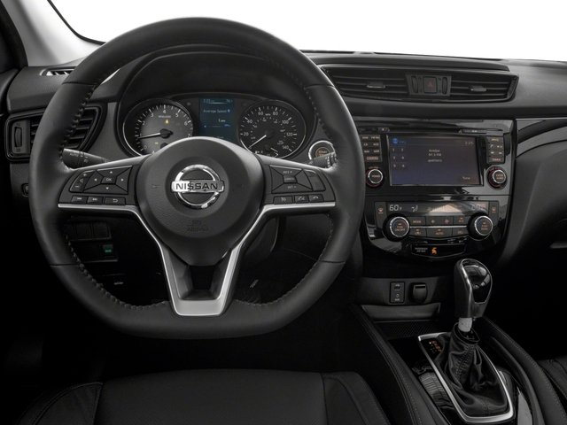 2017 Nissan Rogue Sport Prices and Values Utility 4D SL AWD driver's dashboard