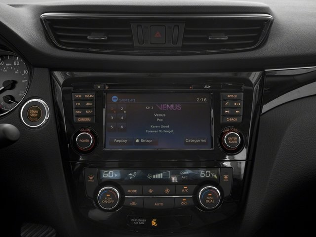 2017 Nissan Rogue Sport Base Price AWD SL Pricing stereo system
