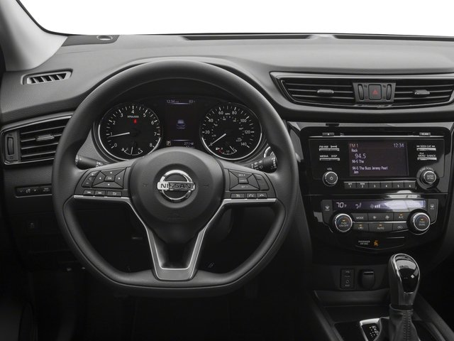 2017 Nissan Rogue Sport Prices and Values Utility 4D SV 2WD driver's dashboard
