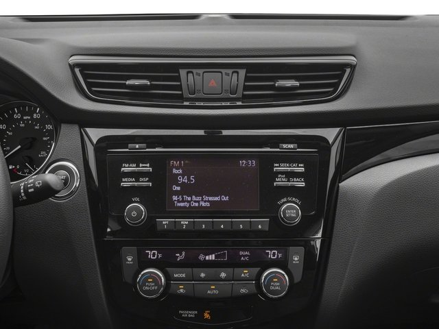 2017 Nissan Rogue Sport Prices and Values Utility 4D SV 2WD stereo system
