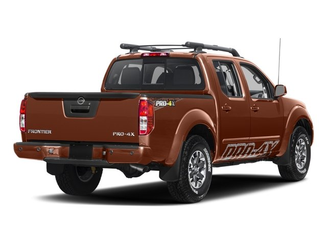 2017 Nissan Frontier Prices and Values Crew Cab PRO-4X 4WD side rear view