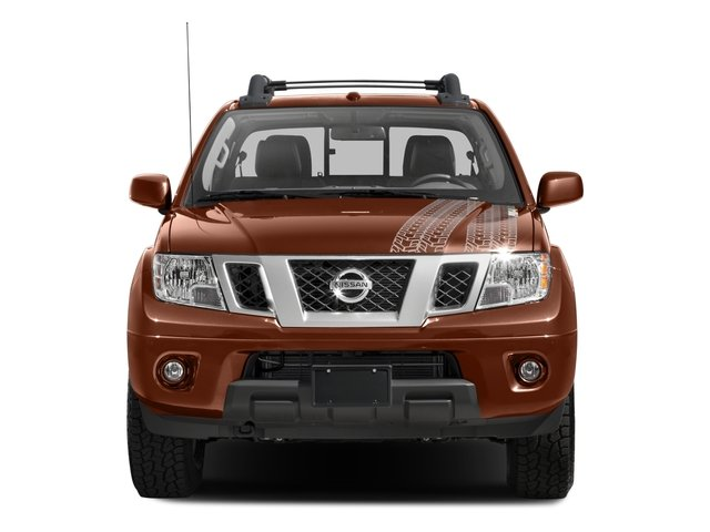 2017 Nissan Frontier Prices and Values Crew Cab PRO-4X 4WD front view