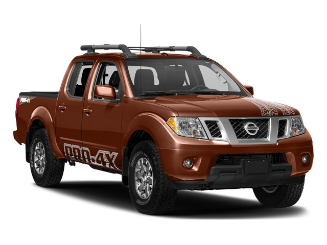 2017 Nissan Frontier Prices and Values Crew Cab PRO-4X 4WD side front view