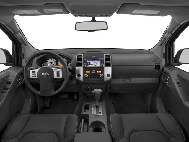 2017 Nissan Frontier Prices and Values Crew Cab PRO-4X 4WD full dashboard