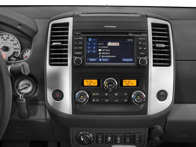 2017 Nissan Frontier Prices and Values Crew Cab PRO-4X 4WD stereo system